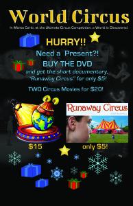 Circus DVD Christmas